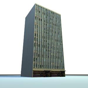 c4d english urban building