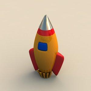 rocket toy 3d 3ds
