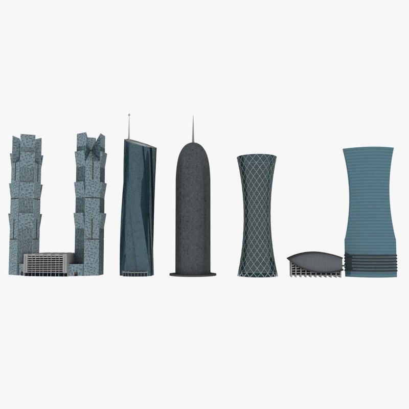 doha buildings max