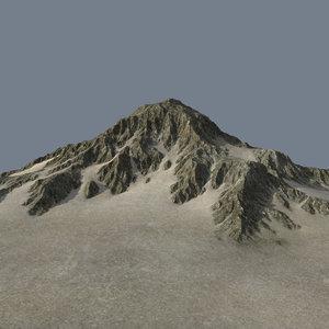 3dsmax mountainous terrain