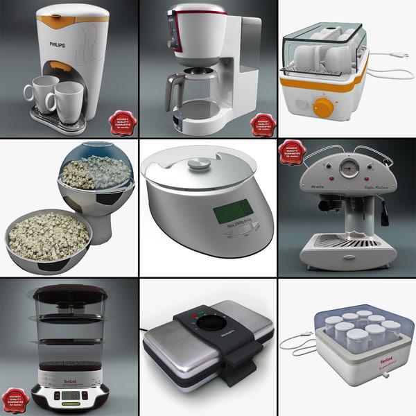 kitchen appliances v4 3ds