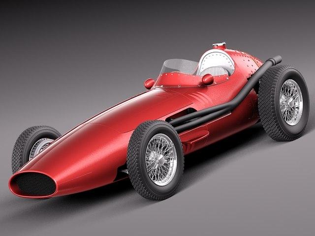 classic antique grand prix c4d