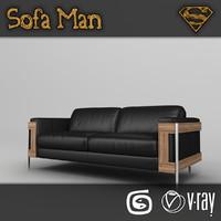 missouri sofa 3d max