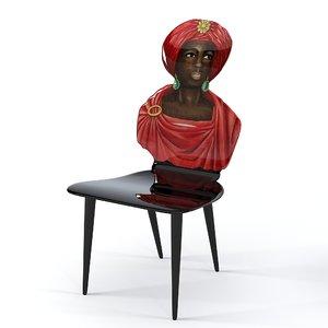3d moor chair
