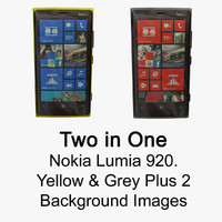 nokia lumia 920 yellow 3ds