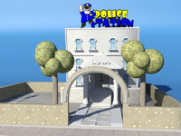 Toon Police Station
