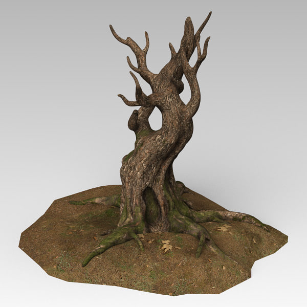 tree landscape 3d model