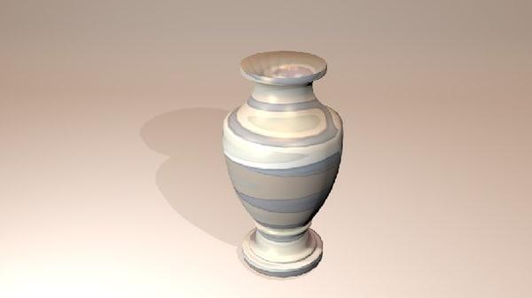 3ds max flowers vase