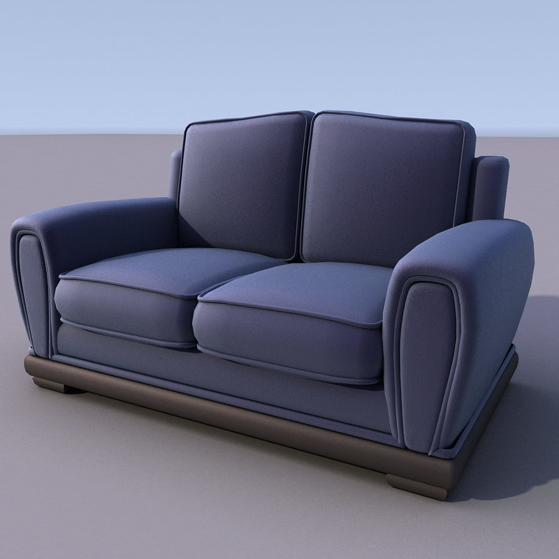 3ds max sofa home