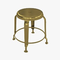 3d stool define gold