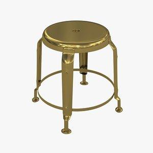 3d stool define gold