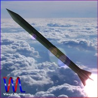 3ds max short missile mgm-5 corporal