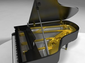 maya yamaha grand piano