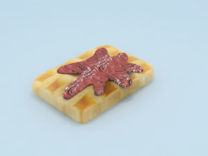 max waffel chocolate