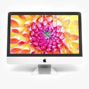 new apple imac 3d model