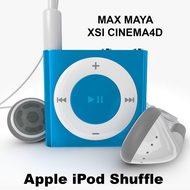 3ds apple ipod shuffle