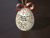 maya ornamental easter egg