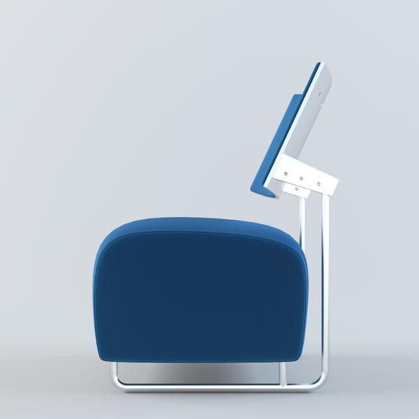 3d chair oskar model