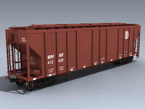 3d pullman 4427 covered hopper