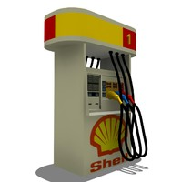 Shell Pump Gas Station