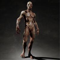 rigging skin 3d model