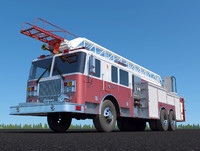 Fire Engine Seagrave Marauder II