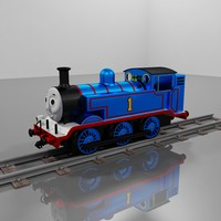 max thomas tank engine metalic