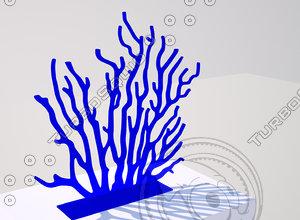 3d korall oration model