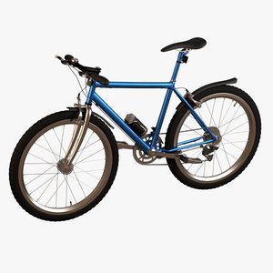mountain bicycle - obj