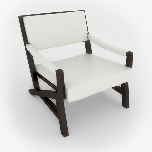 elegant chair 3d max