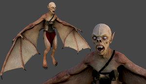 3d model vampire female