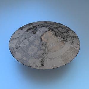 3d model of ufo