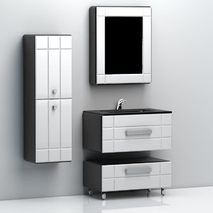 3d dxf bath shelf
