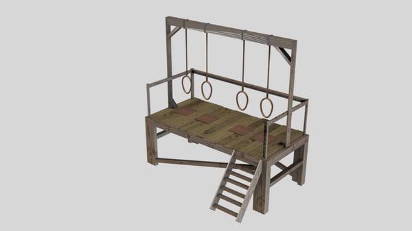 3d gallows