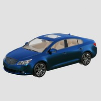Buick_LaCrosse_2010_3ds_Max 2010_Vray