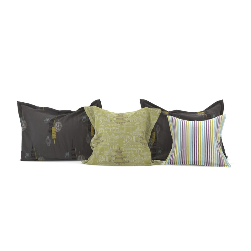 3d model pillow realistic