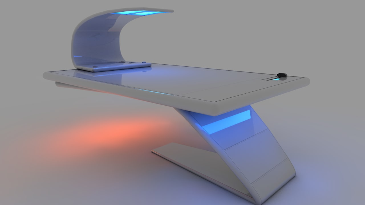 3ds futuristic sci fi