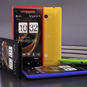 3d htc windows phone 8x