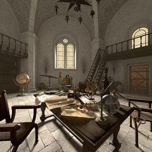 alchemist laboratory c4d