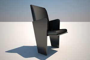 3d model armchair isi