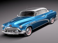 3d buick roadmaster riviera luxury