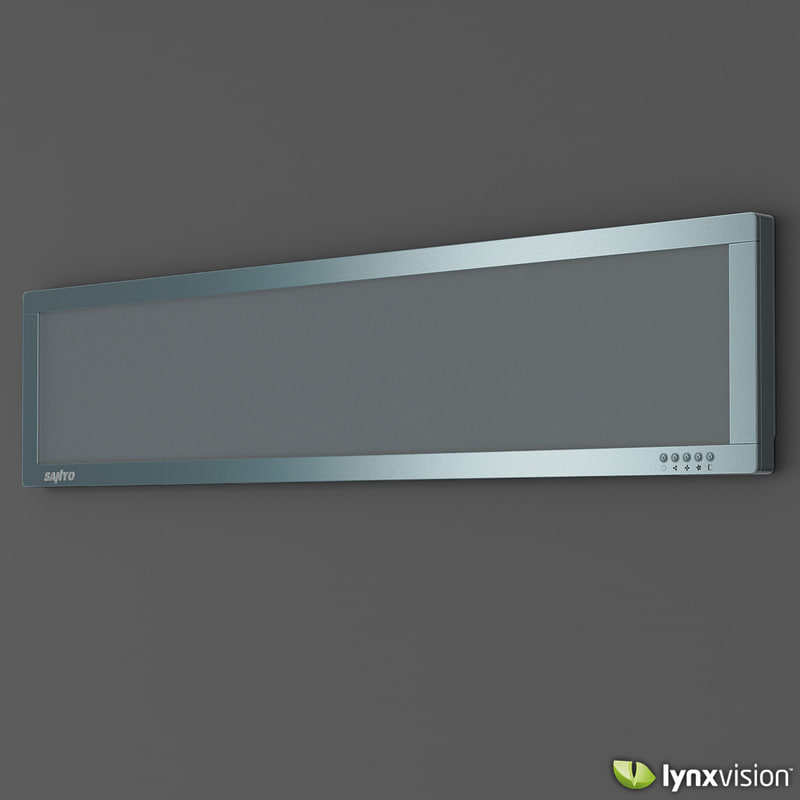 3ds max sanyo air conditioner slim