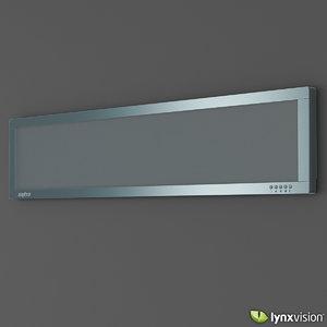 3ds max sanyo air conditioner slim