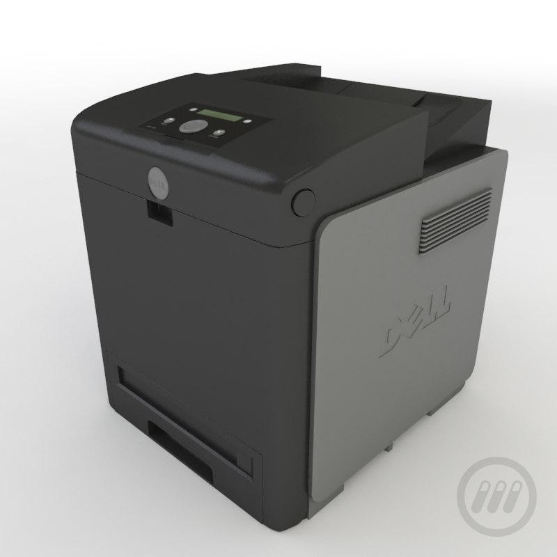 maya dell printer