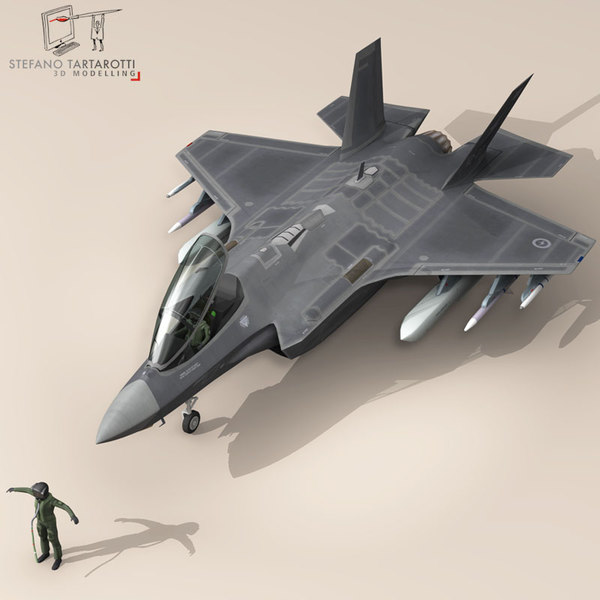 3d pilot air force fighters