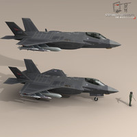 3d pilot - air force model