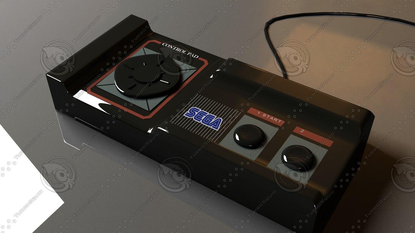 sega gamepad 3d 3ds