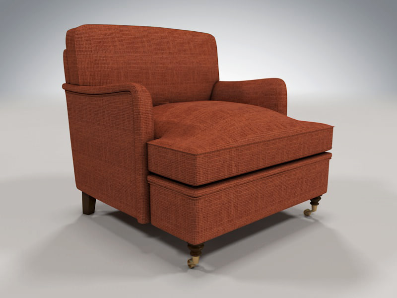 free howard chair 3d model