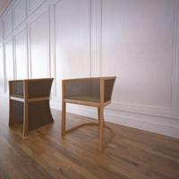 grace chair potocco 3d model