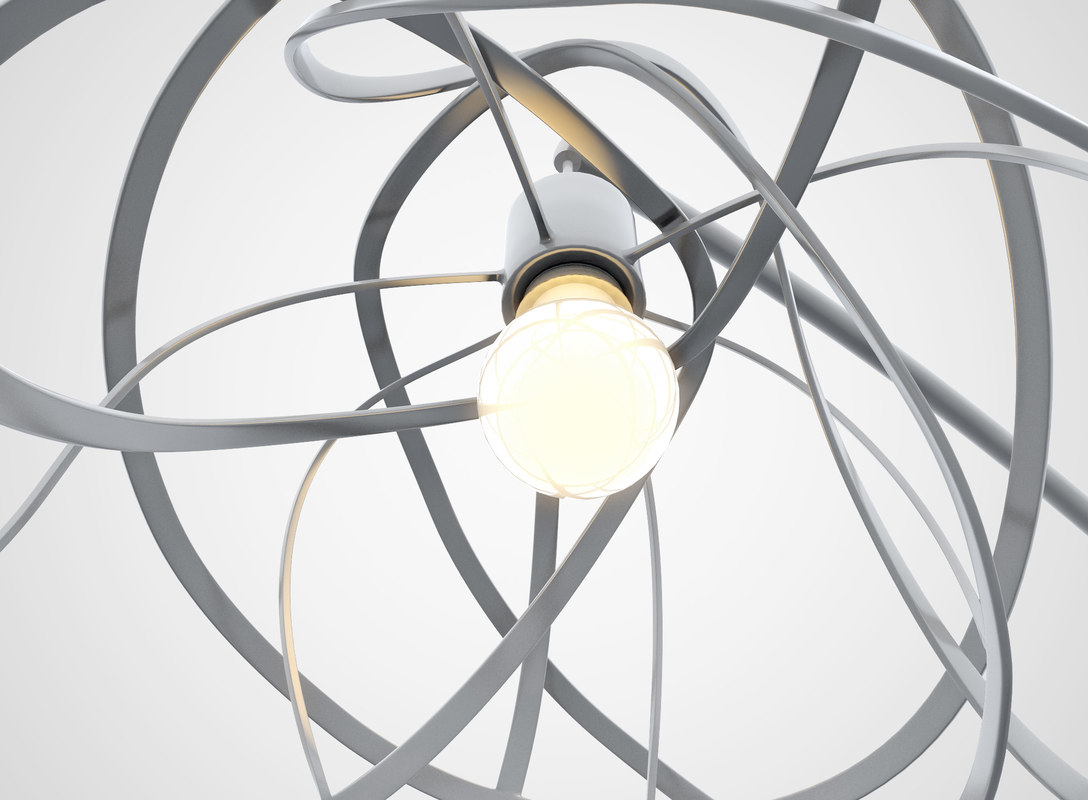 3d Ligne Roset Bloom Lamp Model